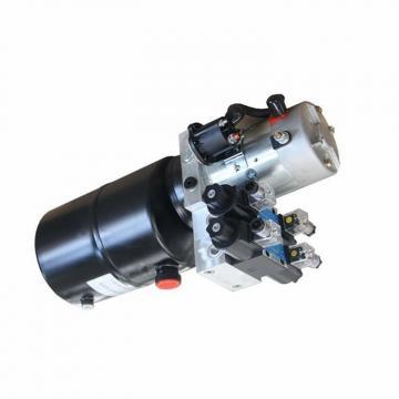 Pompe hydraulique 7L à simple effet Réservoir plastique Remorque Elévateur Auto