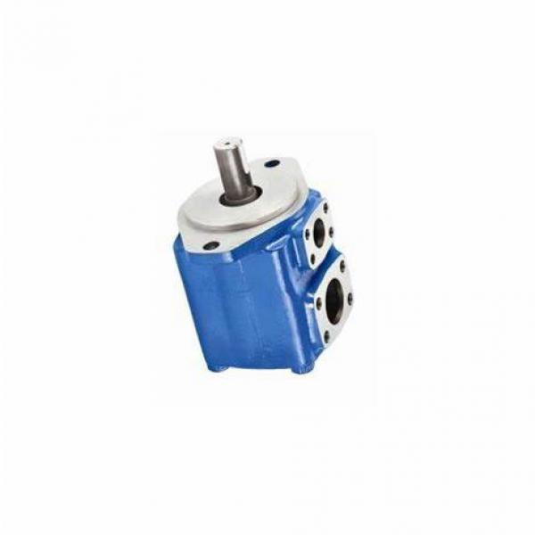 707277-C, vane PUMP 19.5 cc/R -172 bar bspp ports, Eaton Vickers hydraulique valve #3 image